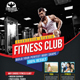 Sport Fitness Club Flyer - GraphicRiver Item for Sale