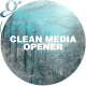 Clean Media Opener I Slideshow - VideoHive Item for Sale