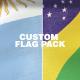 Custom Flag Pack - VideoHive Item for Sale