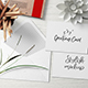 5x7 Greeting Card / Postcard Mockup - Set 2 - GraphicRiver Item for Sale