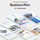Business Plan - 3 in 1 Bundle Powerpoint Template