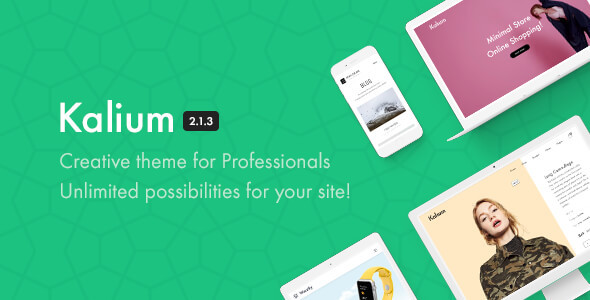 Kalium - Creative Theme for Professionals