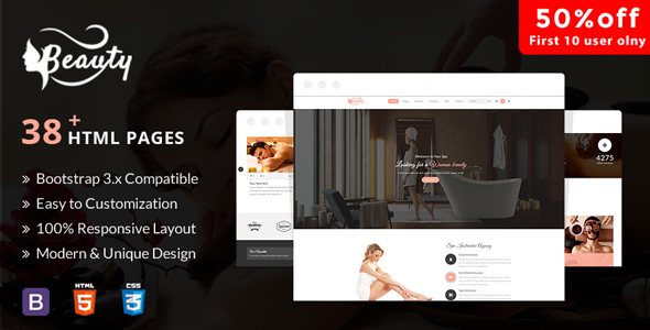 Aveda Spa & Wellness - Multipurpose HTML5 Template For Hair, Beauty & Spa
