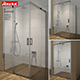 Shower room RAVAK Matrix