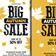 Autumn / Fall Sale Flyers Poster