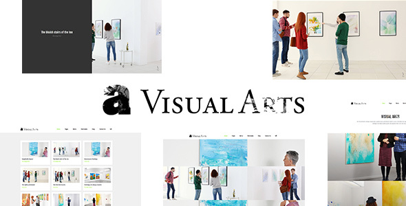 ThemeForest Visual Arts Portfolio WordPress Theme 20563405