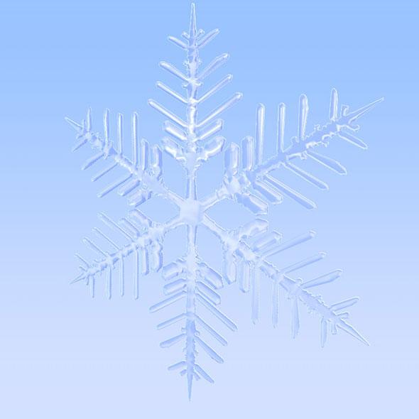 3DOcean Snowflake 3D model 20563421