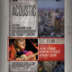 Acoustic Session Flyer / Poster - GraphicRiver Item for Sale