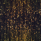 Abstract Gold Particles Glittering