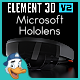 Microsoft Hololens for Element 3D - 3DOcean Item for Sale