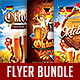 Oktoberfest Flyer Bundle Vol.1