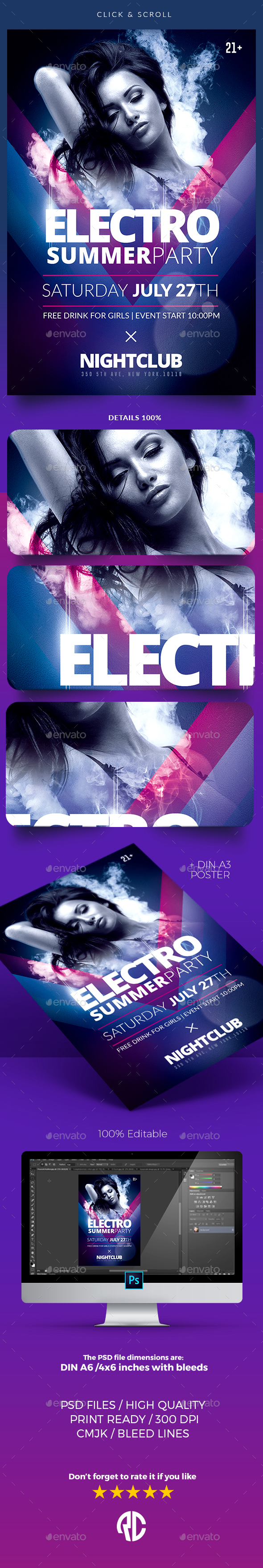 Electro Party - Templates - Clubs & Parties Events