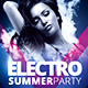 Electro Party - Templates - GraphicRiver Item for Sale