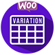 Woocommerce Table View For Variations