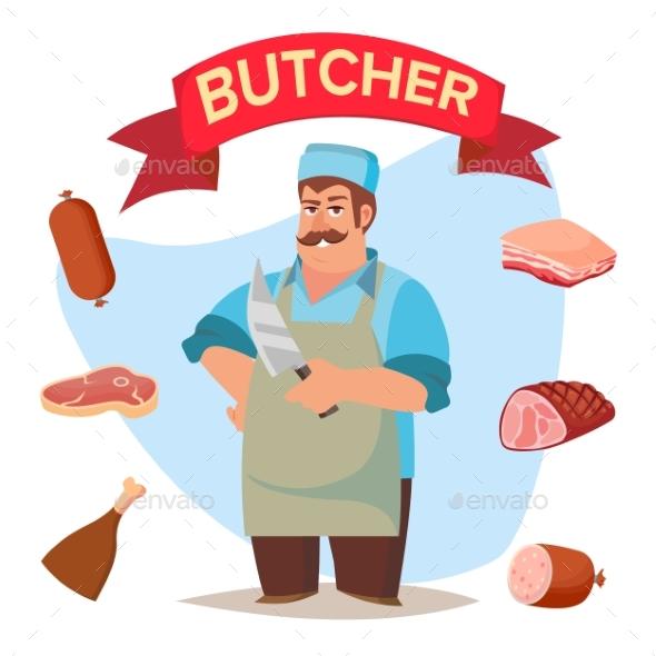 GraphicRiver Professional Butcher Vector 20564172