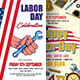 Labor Day Flyers Bundle