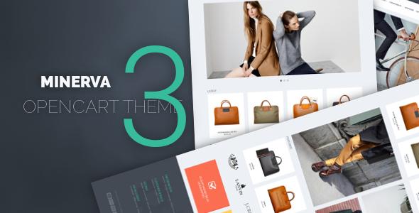 Minerva - Responsive OpenCart 3 Theme - OpenCart eCommerce