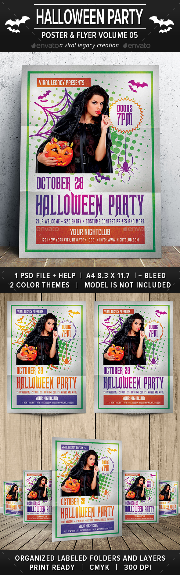 Halloween Party Poster / Flyer V05