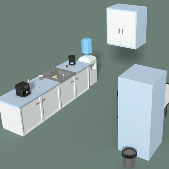 3DOcean Low Poly Office Kitchen 20565376