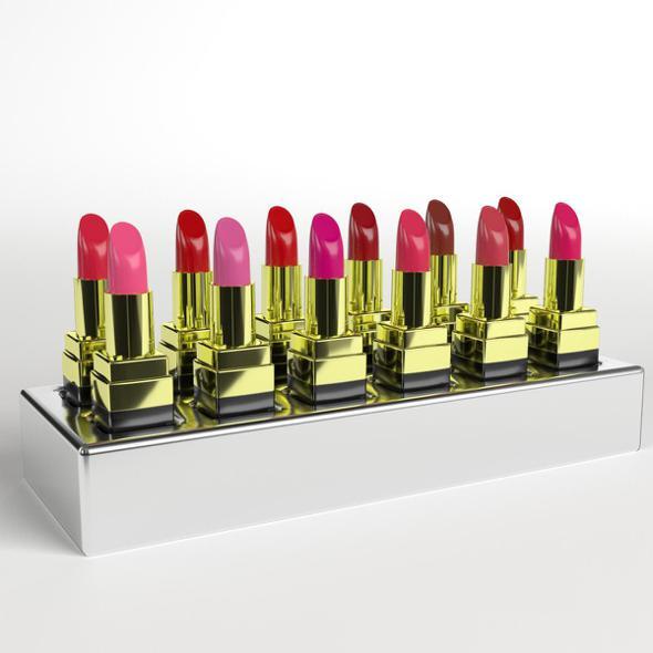 Lipstick Holder - 3DOcean Item for Sale