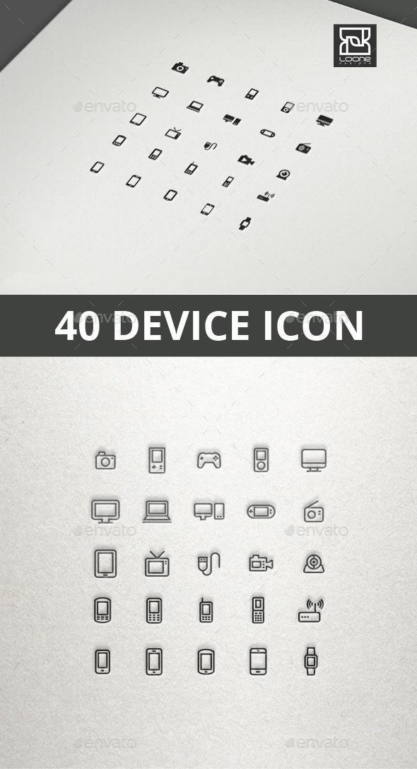 Device Icon - Technology Icons
