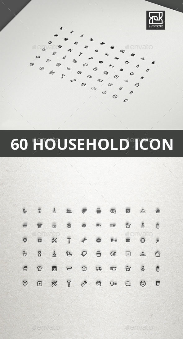 GraphicRiver Household Icon 20565550