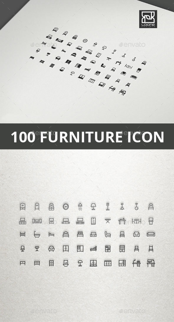 Furniture Icon - Objects Icons
