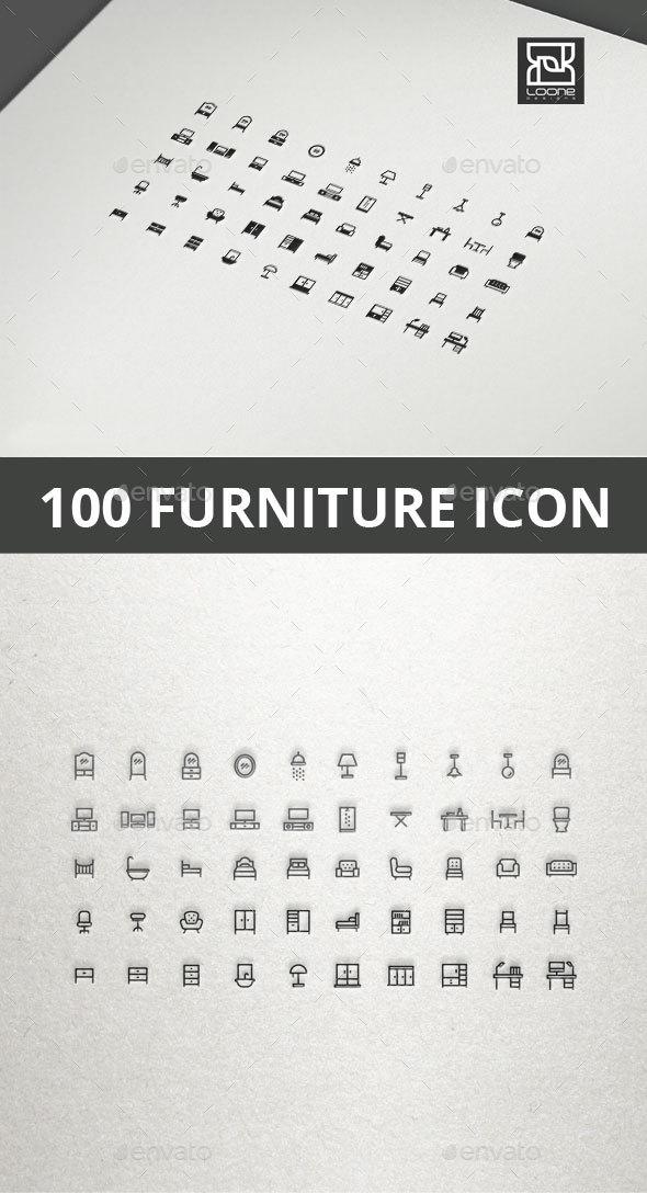 GraphicRiver Furniture Icon 20565556