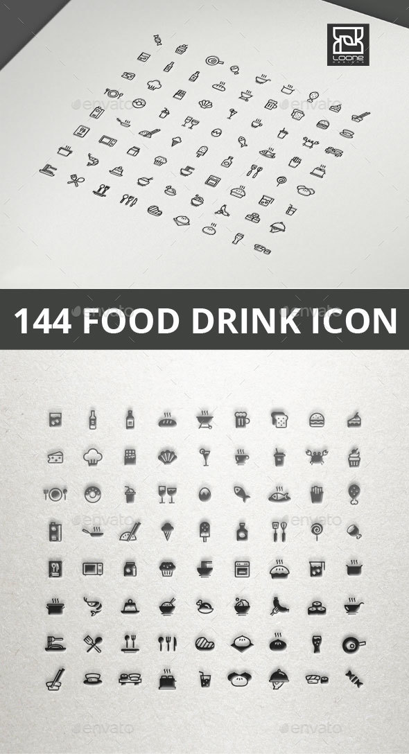 GraphicRiver Food and Drink Icon 20565566