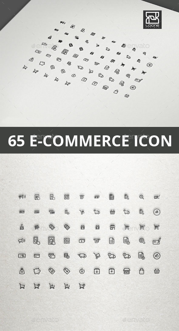 E-commerce Icon - Business Icons