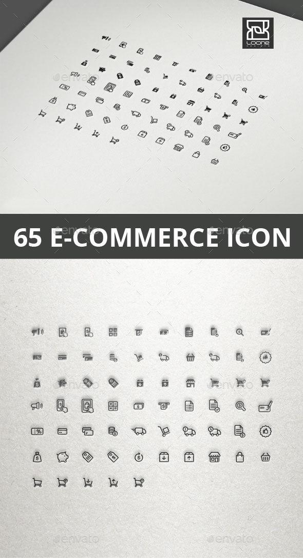 GraphicRiver E-commerce Icon 20565579