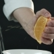 The Chef Squeezes Out the Orange Juice - VideoHive Item for Sale