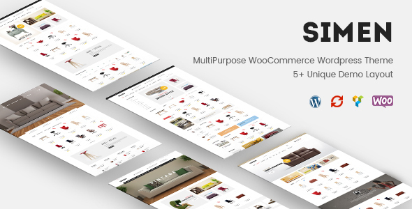 Simen - MultiPurpose WooCommerce WordPress Theme - WooCommerce eCommerce