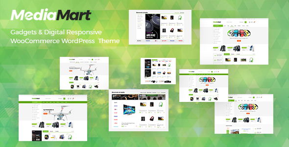 MediaMart – Gadgets & Digital Responsive WooCommerce WordPress Theme