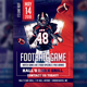 Football GameDay Flyer Template