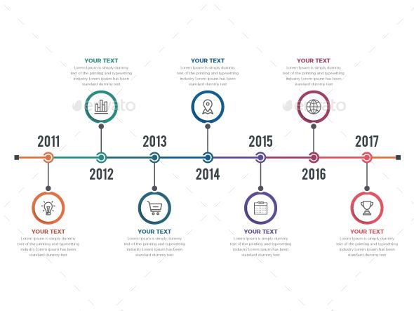 GraphicRiver Timeline Infographics 20566286