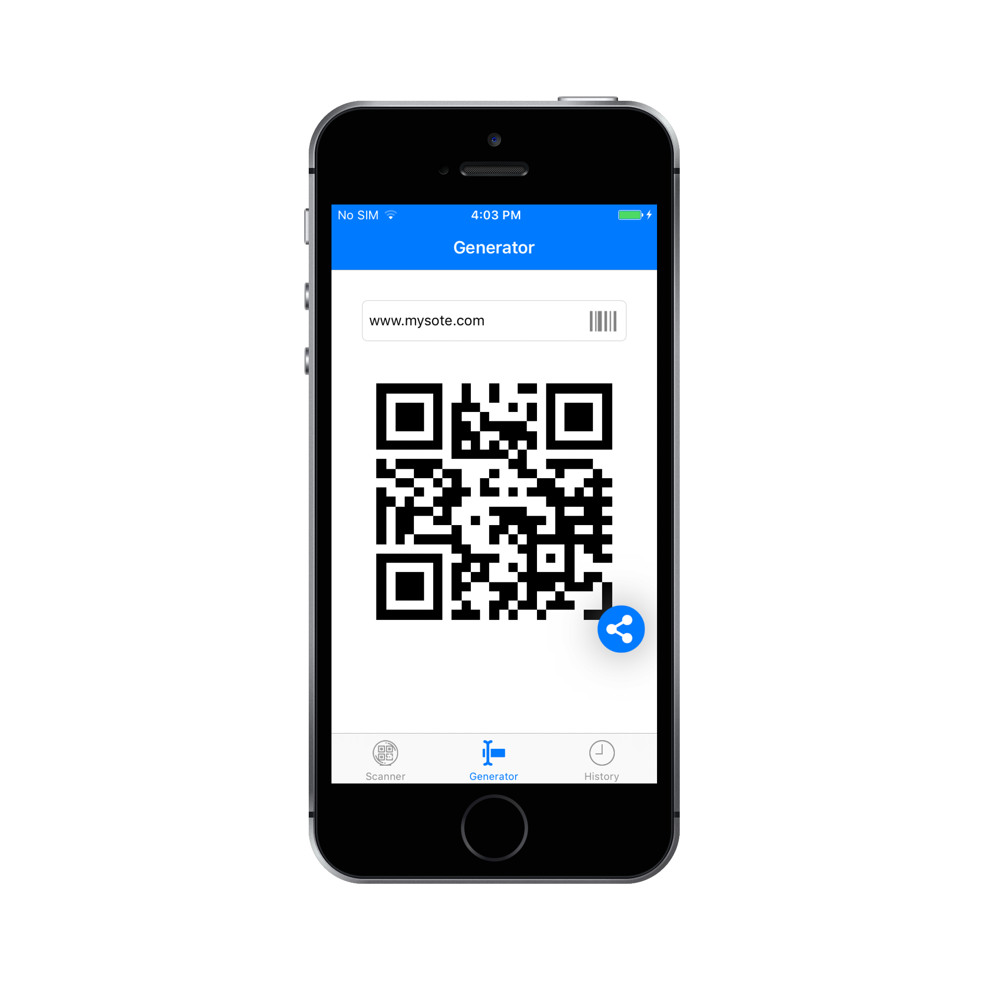 QR Code & Barcode Scanner and Generator for iOS Swift with AdMob