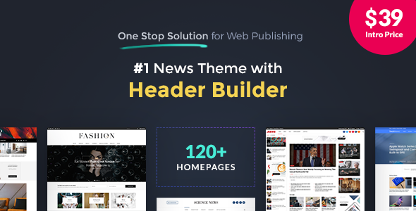 Download JNews - One Stop Solution for Web Publishing