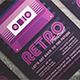 Retro Music Festival Flyer