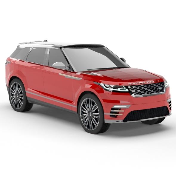 3DOcean Land Rover Range Rover Velar low poly 20566495