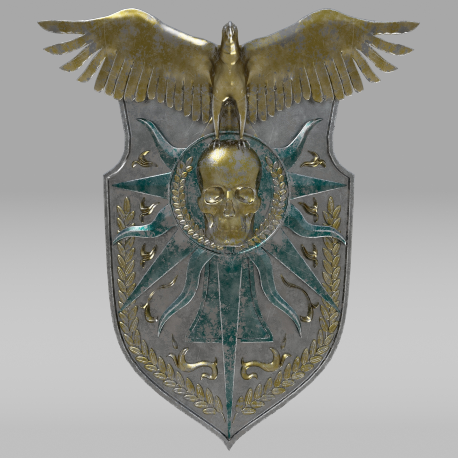 Fantasy Shield By Nicu Tepes 3docean