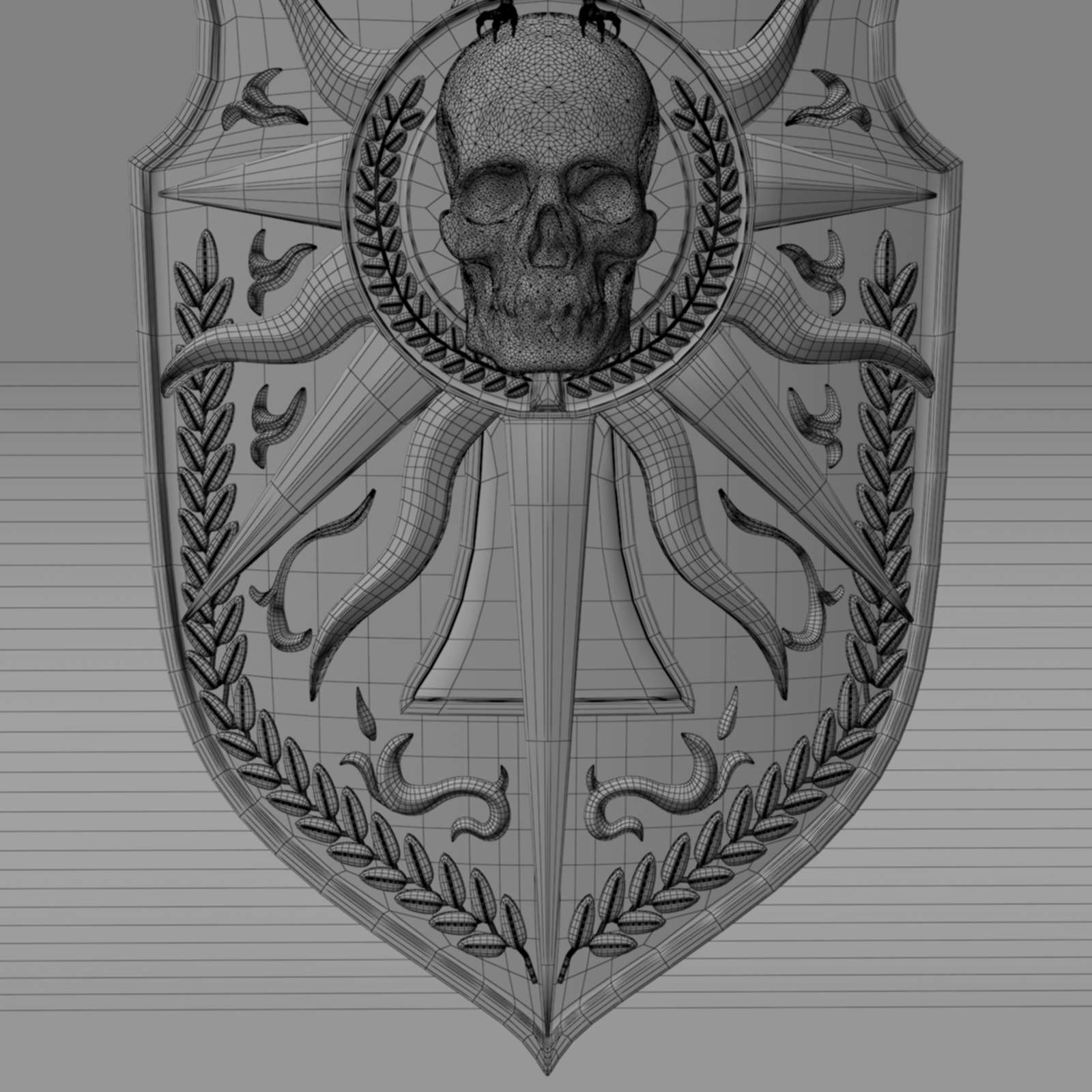 Fantasy Shield By Nicu Tepes 3docean