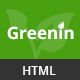 Greenin Gardening and Landscaping HTML Template