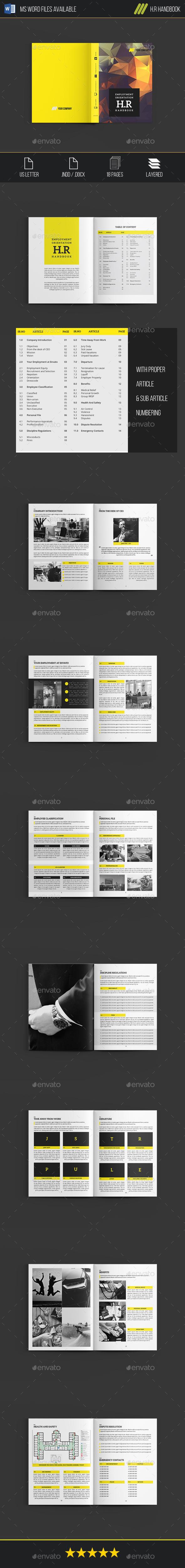 H.R Handbook - Informational Brochures