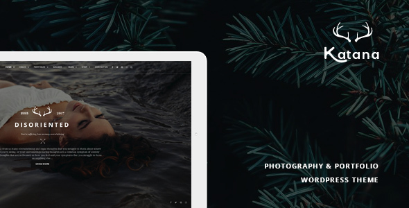 Katana - Photography & Portfolio WordPress Theme