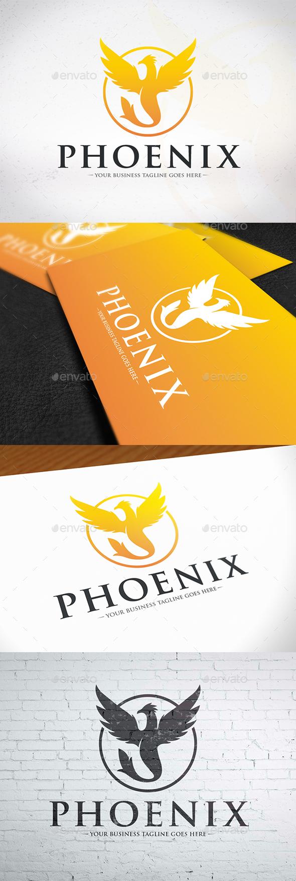 GraphicRiver Royal Phoenix Logo 20566914