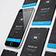 Iphone / UI / App Screen Mockup