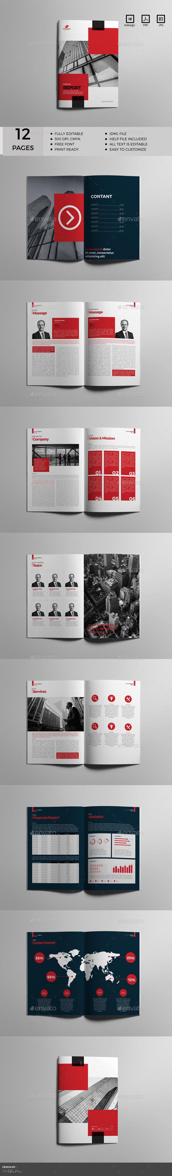 GraphicRiver Annual Report Vol 3 20567129