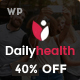 DailyHealth - A Professional Health and Medical Blog and Magazine WordPress Theme - ThemeForest Item for Sale