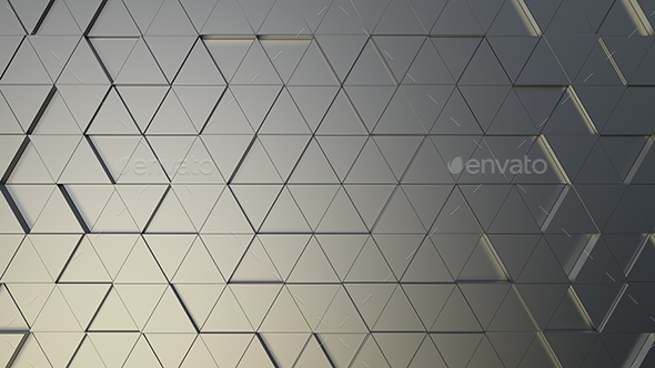 Triangles Background - 3D Backgrounds